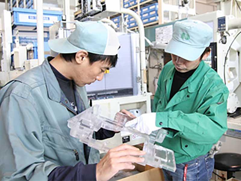お客様の信頼に応え 品質にこだわり徹底した国内生産